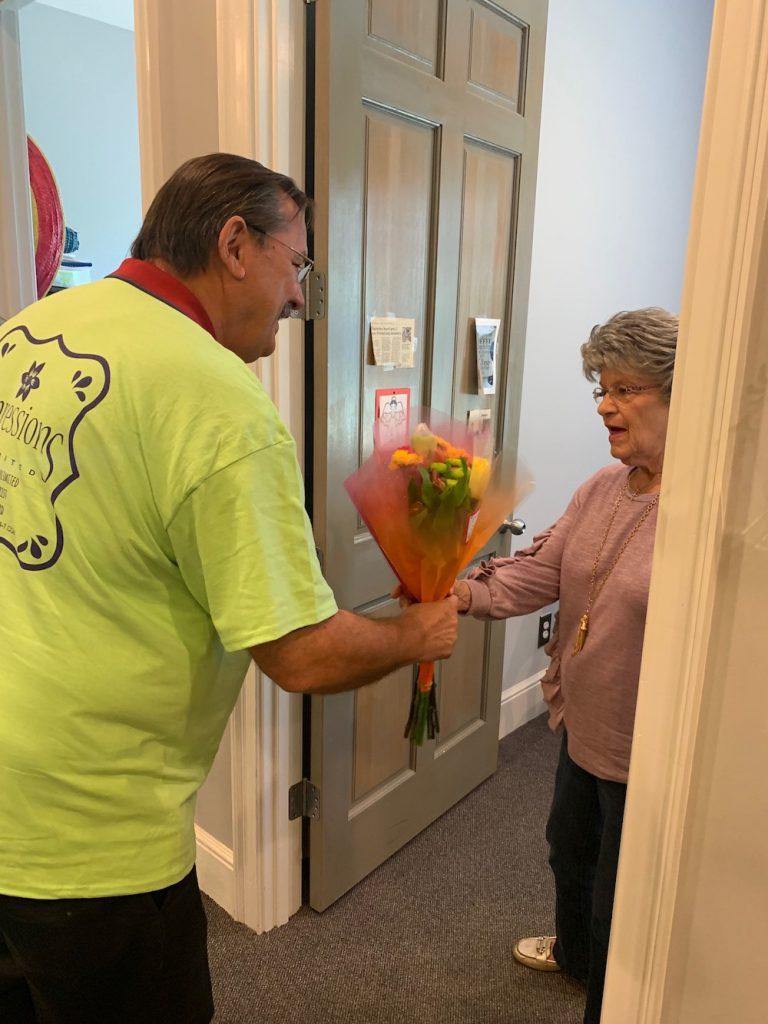 Petal It Forward Campaign Giving Bouquet